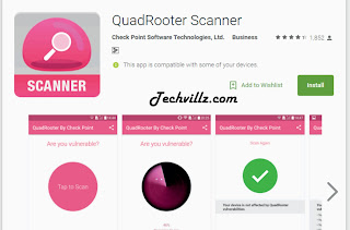 QuadRooter Malware QuadRooter Scanner