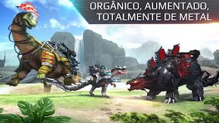 Jogo de Dino metálicos para android com munição infinita