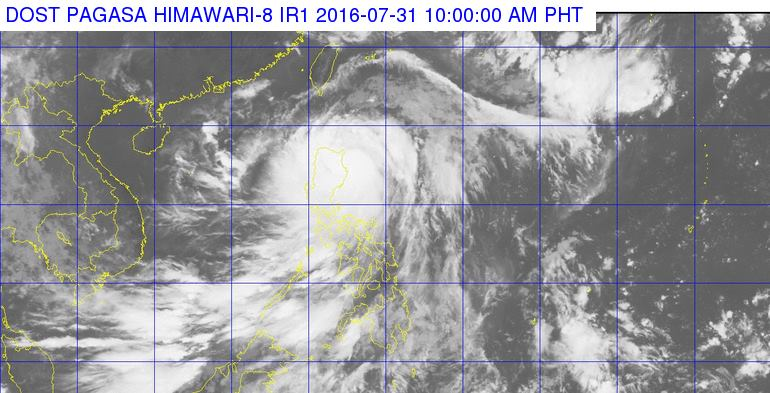'Bagyong Carina' intensifies; 10 areas in Luzon under Signal No. 2
