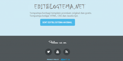 blogger footer example