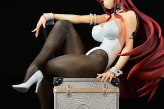 Erza Scarlet Bunny Girl_Style Type White 1/6 de Fairy Tail - Orca Toys