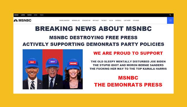 Memes: MSNBC THE DEMONRATS PRESS