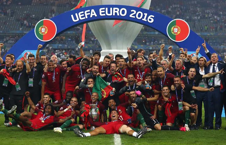 La remera Nike de Portugal en homenaje a la Euro 2016