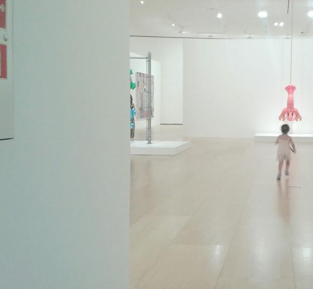 Museo Guggenheim de Bilbao con niños