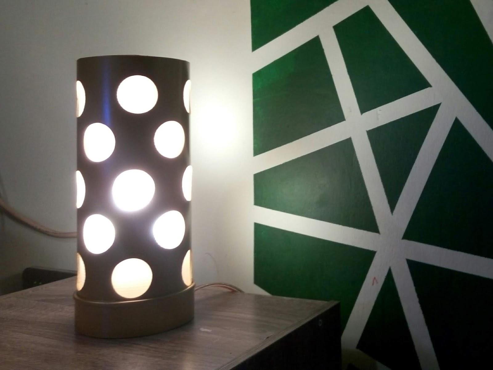 Cara Membuat Lampu Hias Meja Diy Dari Paralon Pipa Kreasi Pipa Cara membuat lampu dinding