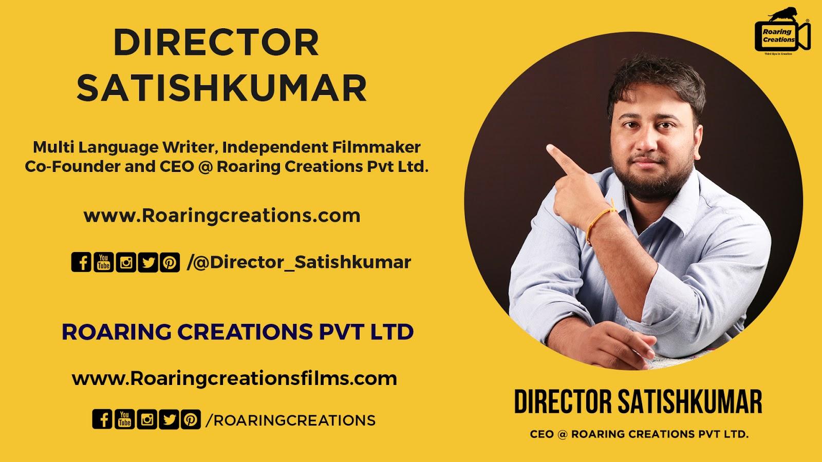 About Director Satishkumar