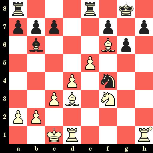 Les Blancs jouent et matent en 4 coups - Paul Keres vs V Rootare, Tallinn, 1942
