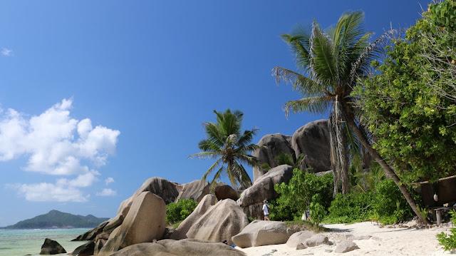 Seychellen Insel La Digue, Anse Source d'Argent
