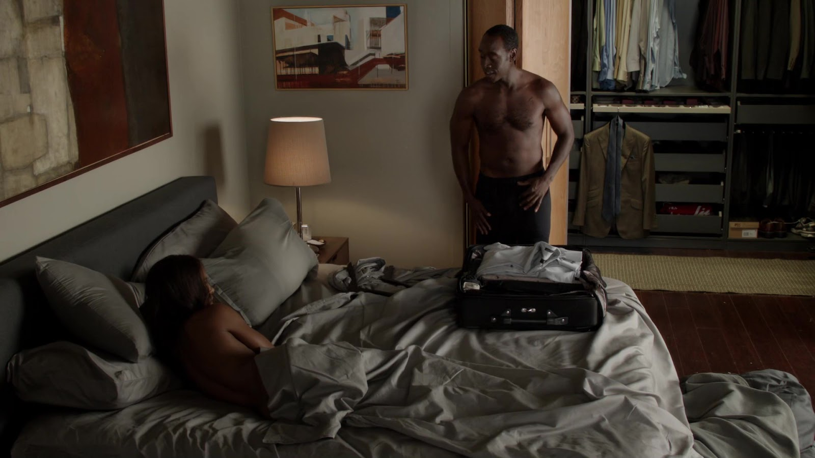 Naked dawn olivieri in house of lies ancensored