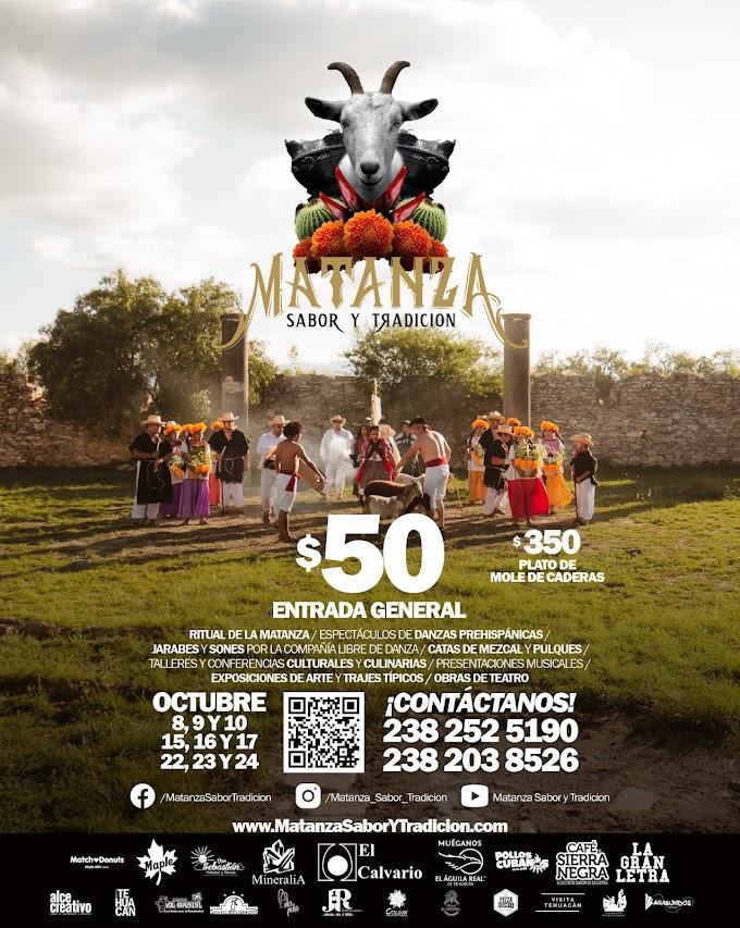 Festival de la Matanza y Mole de Caderas Tehuacán 2021