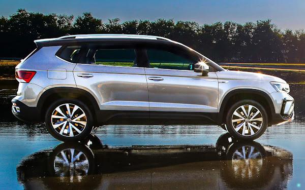 VW Taos - custo menor de revisão, serviço e seguro