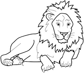 Printable Lion Picture Animal Coloring Pages Online