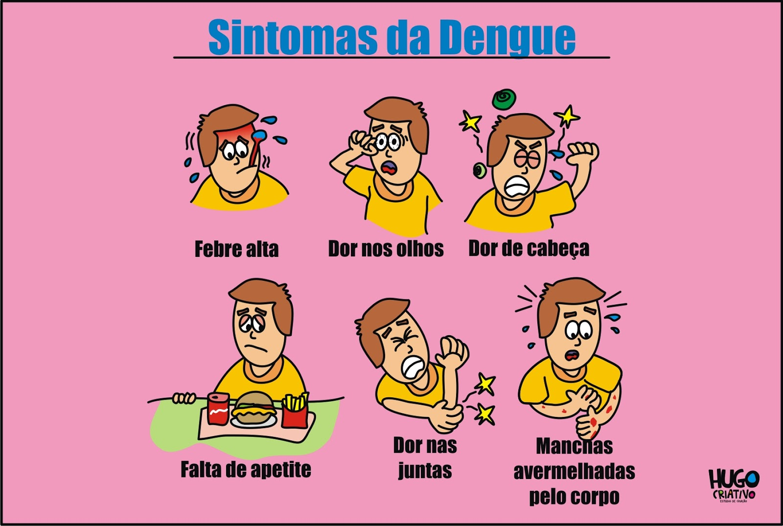 Ilustracao Dengue Hugo Criativo Estudio De Criacao