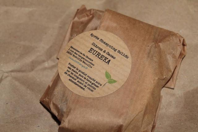 Après-Shampooing Solide Citron et Cacao Eureka - So Champs