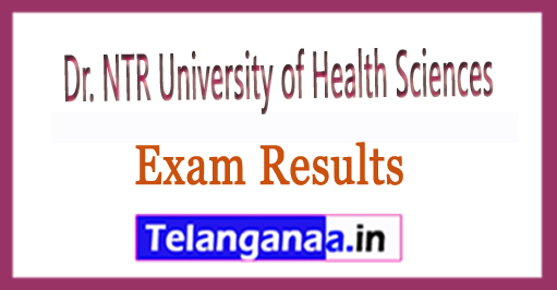 Dr. NTRUHS M.D (Homoeo) Exam Results/Merit List 2018 Download