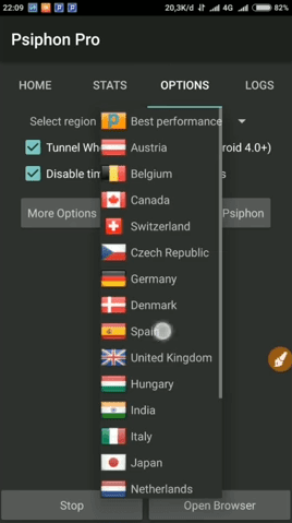 psiphon pro 307 full apk free unlimited forever