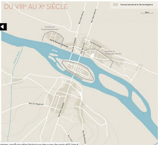 La ville de Paris au Xe siècle