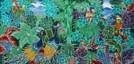 Gambar Motif Batik Bali