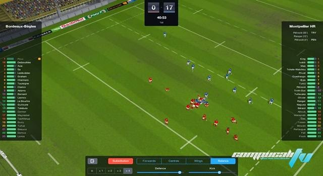 Pro Rugby Manager 2015 PC Full