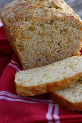 Apple Cheddar Beer Bread