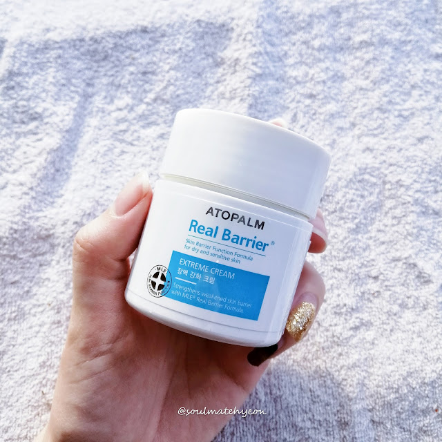 Review; Atopalm Real Barrier Extreme Cream