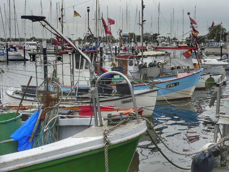 Ostsee, Fischkutter, ostseefischer