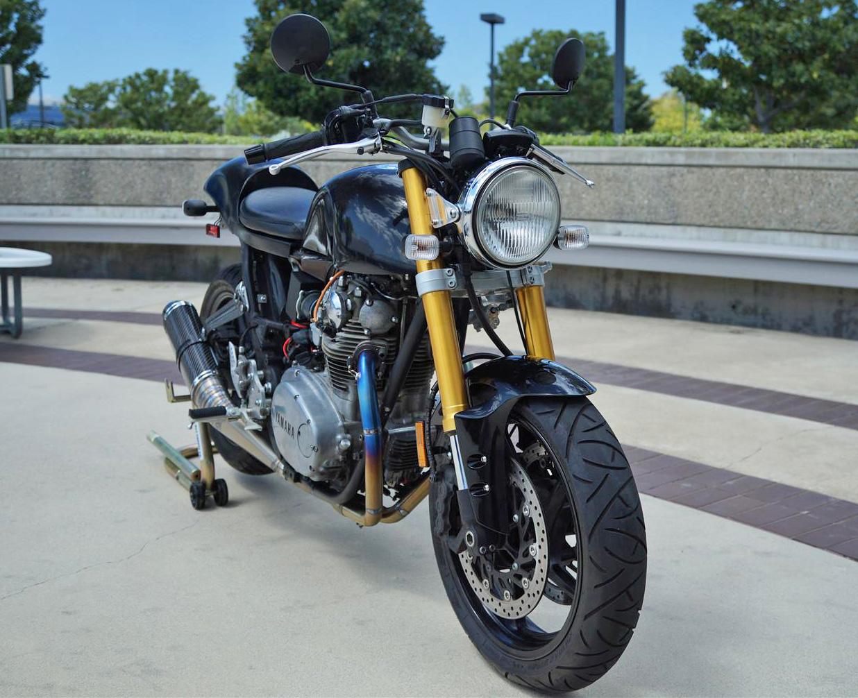 1979 yamaha xs650 cafe racer - way2speed