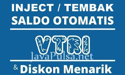 Jasa Injek Tembak Saldo Chip VTri Terlengkap Server Java Pulsa Online Termurah Jember Surabaya Jawa Timur