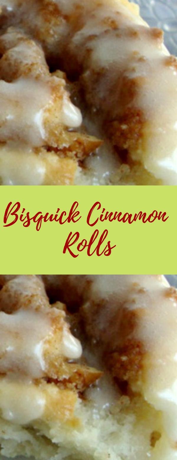 Bisquick Cinnamon Rolls #CINAMON #DESSERT