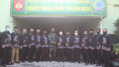 Komandan Kodim 0706 / Temanggung Jalin Komunikasi Bersama FKUB Temanggung