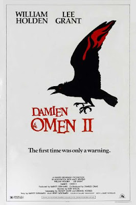 Theatrical one-sheet for DAMIEN: OMEN II (1978).