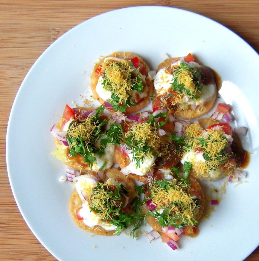 Papdi Chaat Street Food
