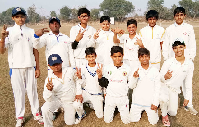 The Cricket Gurukul defeated Sabakrim Cricket Academy by 6 wickets