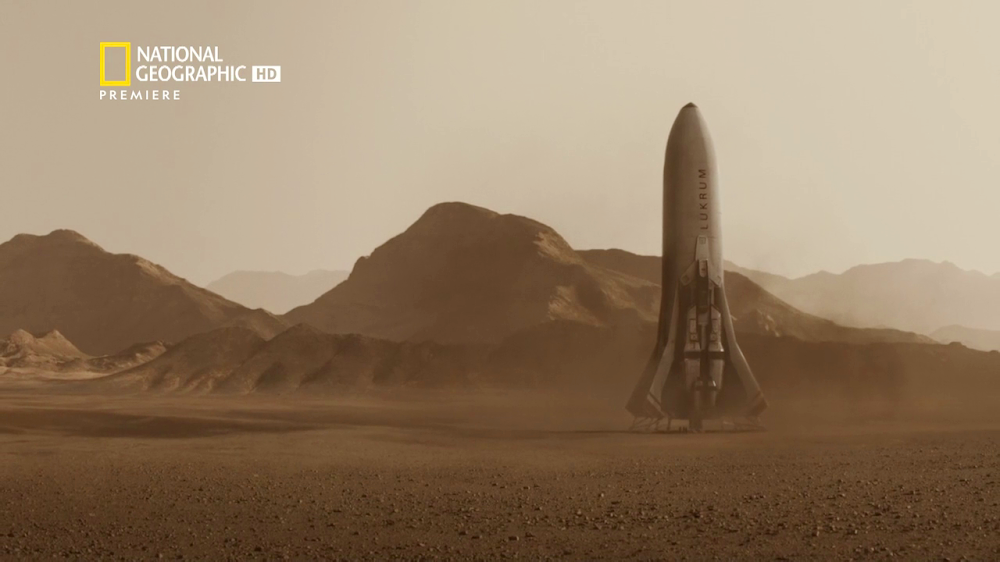 National Geographic's MARS - episode 1, season 2 (Lukrum ship)