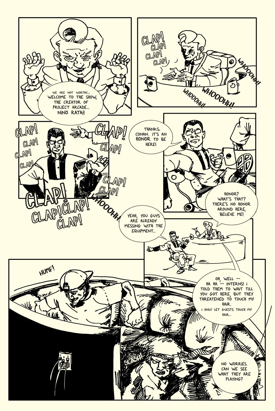 Page 2 art by Roho