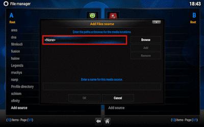 شرح كيفية تتبيث اضافة Phoenix على برنامج Kodi