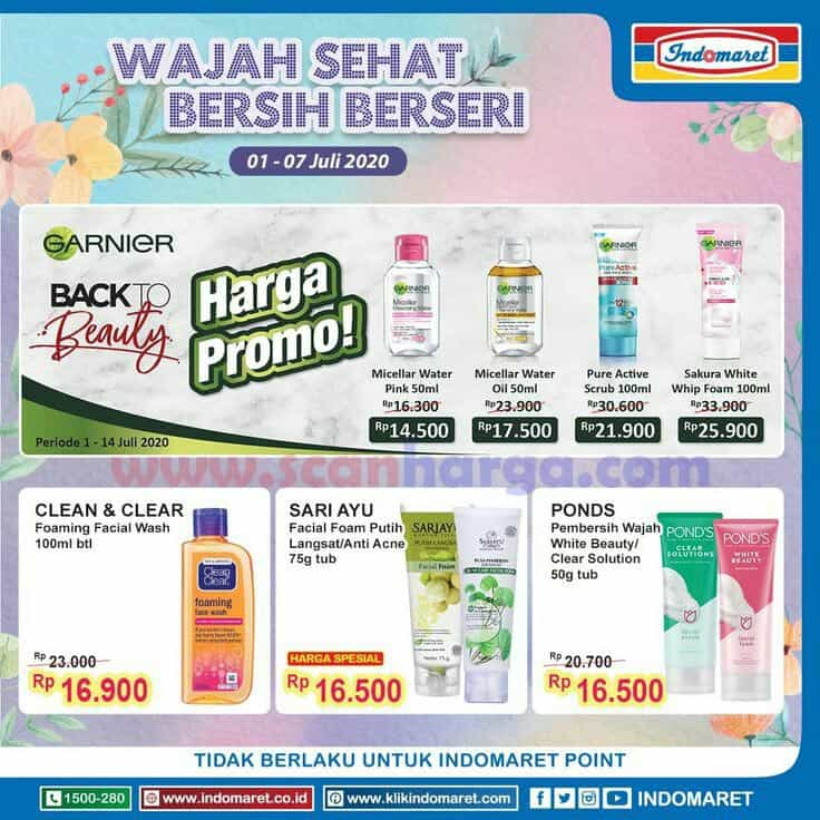 Indomaret Promo Kosmetik Back To Beauty Terbaru Scanharga