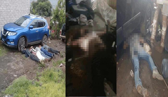 Se desata la pelotera entre elementos de la GN y sicarios que se atrincheran en Yuriria, dejan 5 sicarios abatidos y 12 detenidos