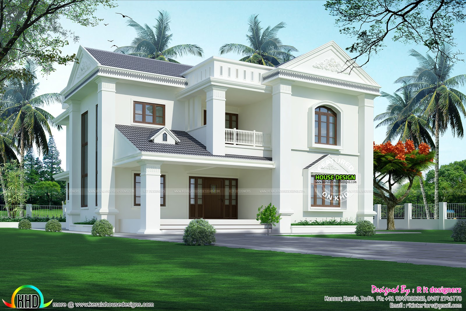 Cute Home Modern Style Kerala Home Design And Floor Plans