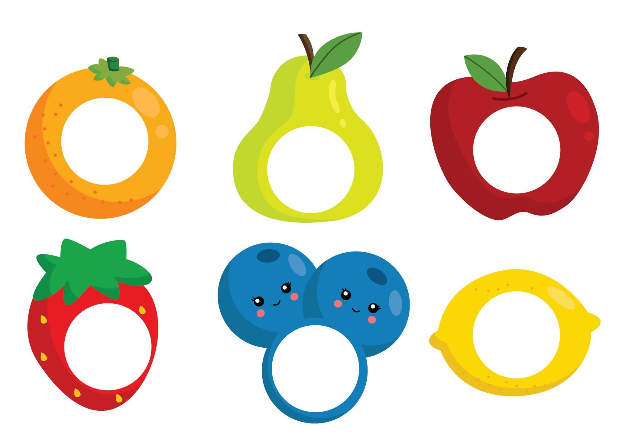 Atividade com Frutas: associação de cores, reconhecendo as frutas e raciocínio lógico
