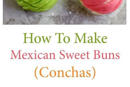 MEXICAN SWEET BUNS (CONCHAS)