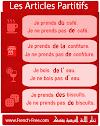 متى نقول de و du و d' و de la و des في اللغة الفرنسية