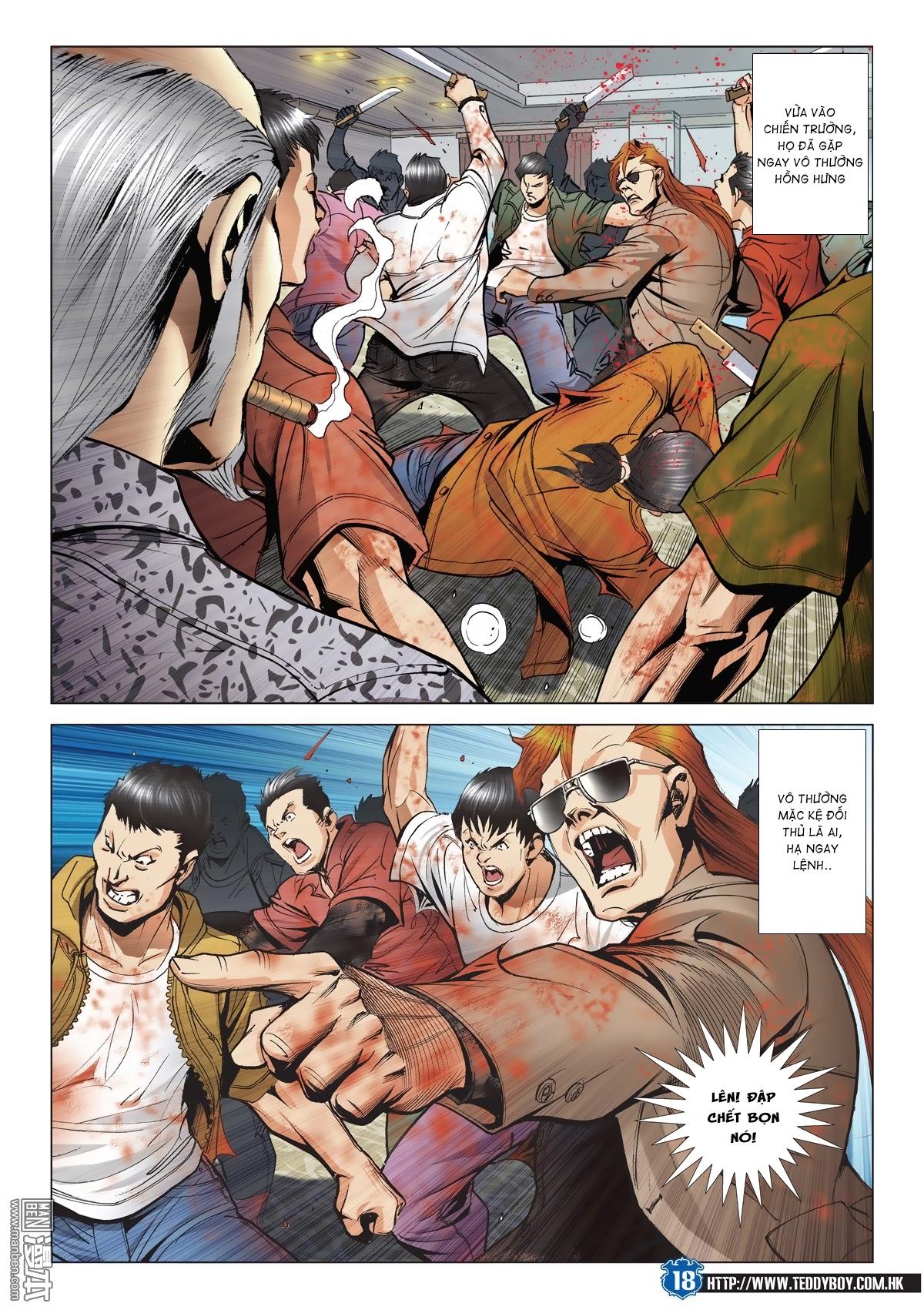 Người Trong Giang Hồ chapter 2026: khí diệm tông sư trang 17