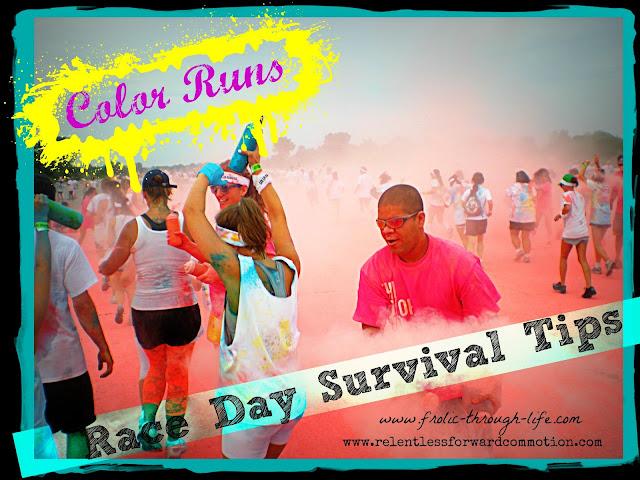 Color Run Race Day Survival Tips