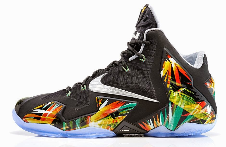 online store 39787 70fd9 Nike Lebron 11  Everglades  (616175-006) Release Date