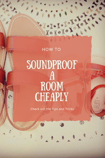 soundproof a room cheaply
