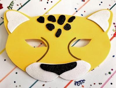 Máscara de leopardo 🐆