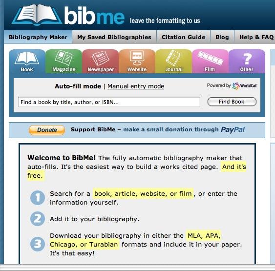 Bibme Fast Easy Bibliography Maker Mla Apa Chicago .html ...