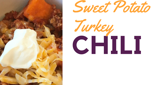 Sweet Potato Turkey Chili (Fix Approved)