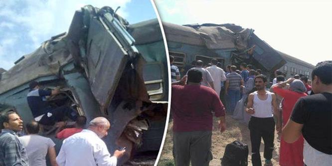 عاجل : تصادم قطارين بالإسكندرية ووقوع ضحايا ومصابين